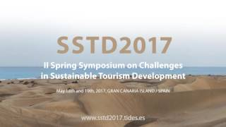 II Spring Symposium on Challenges  in Sustainable Tourism Development