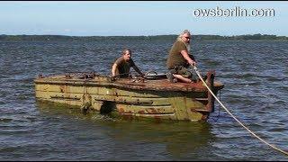 Буксирно-моторный катер БМК-130. Tug motor boat / Bugsierboot BMK-130.