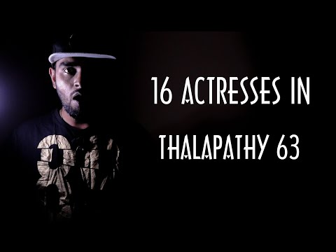 Thalapathy Vijay To Act With 16 Actresses In Thalapathy 63 - People Started Trolling Atlee 😠