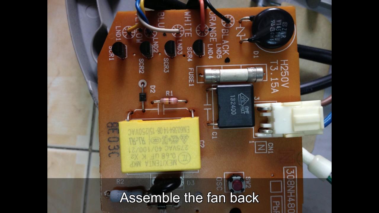 Repair Kdk Fan