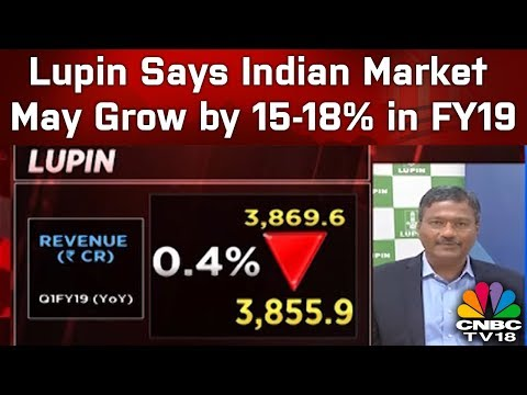 Lupin Says Indian Market May Grow by 15-18% in FY19; Worst Over on US Pricing |  CNBCTV18
