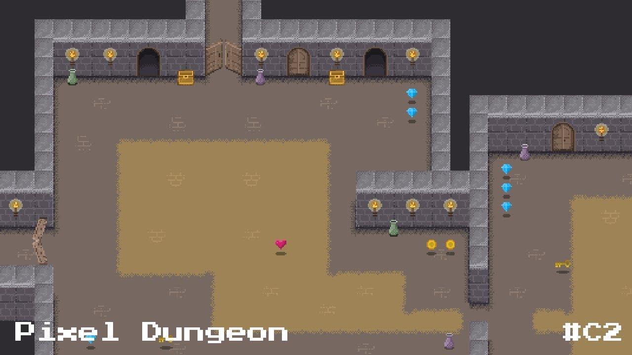 Dungeon Assets 2d