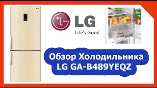Холодильник lg ga b489ymqz видео обзор