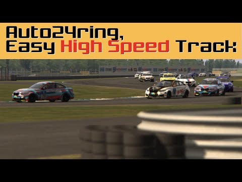 "Auto24ring mod for Assetto Corsa - Free Download - ""Easy High Speed Track"""