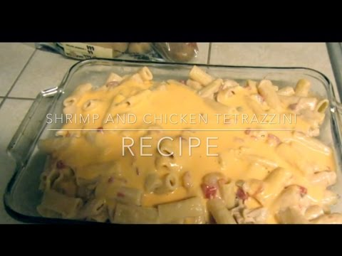 Chicken & Shrimp Tetrazzini
