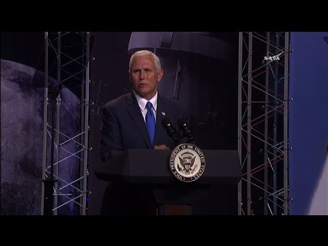 Pence re-launches 1958 National Space Council