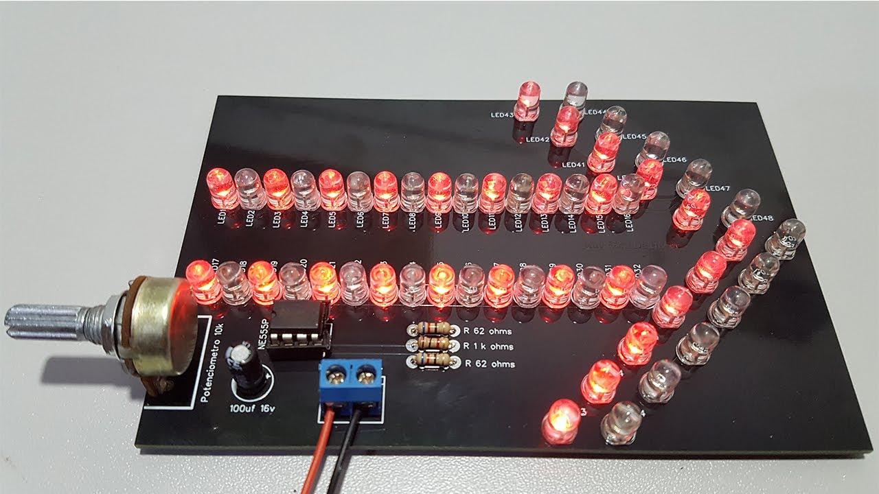 PCBWay - FLECHA de LED