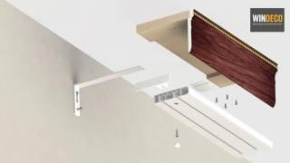 видео Багетный карниз для штор (багеты): фото