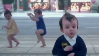 Evian brings back dancing babies for ad