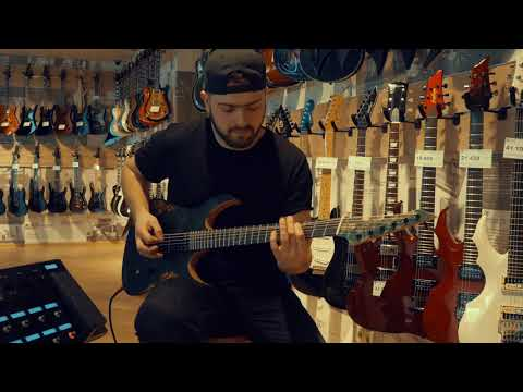 Jinjer - I speak Astronomy playthrough on Venus, OD Guitars #odguitars #Jinjer #romanjinjer