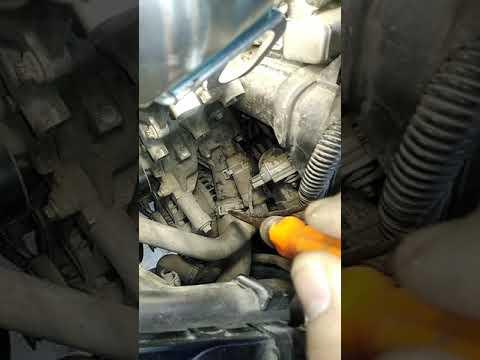 Замена термостата форд фокус 2 1.8