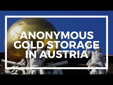 Anonymous gold storage - storing gold in Austria at Das Safe