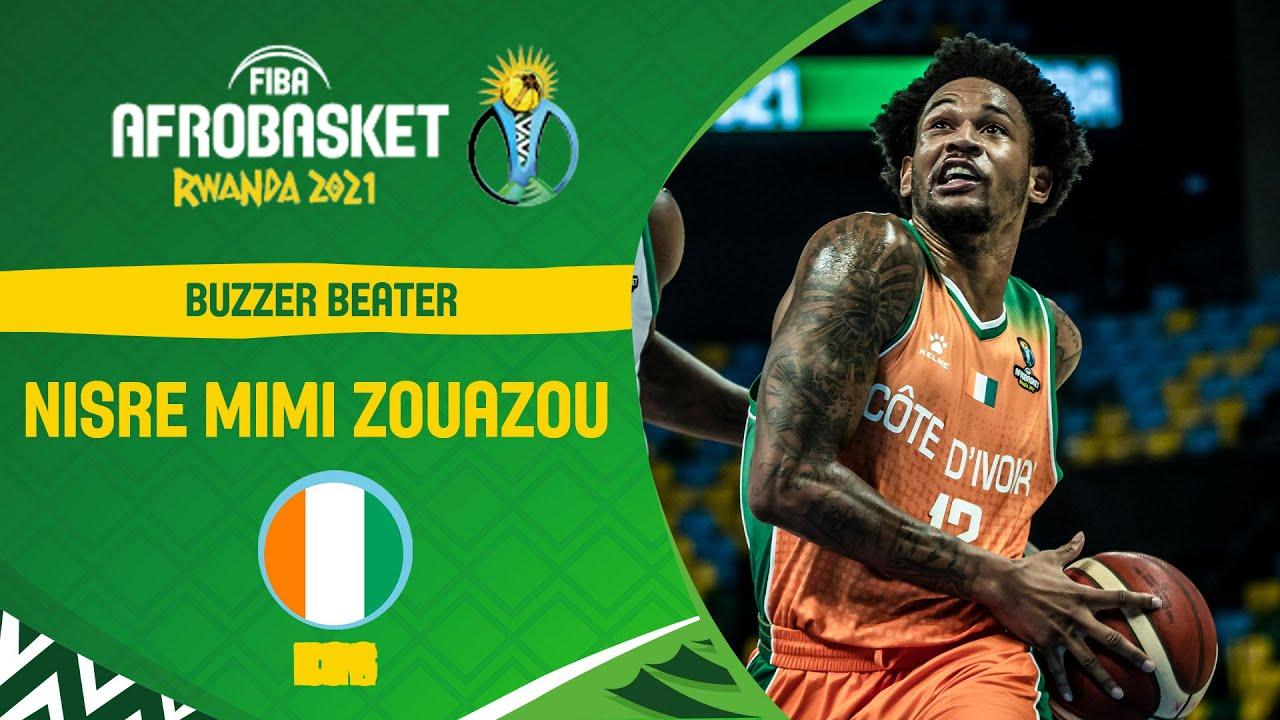 Amazing 3-Pointer! TISSOT Buzzer Beater | FIBA AfroBasket 2021