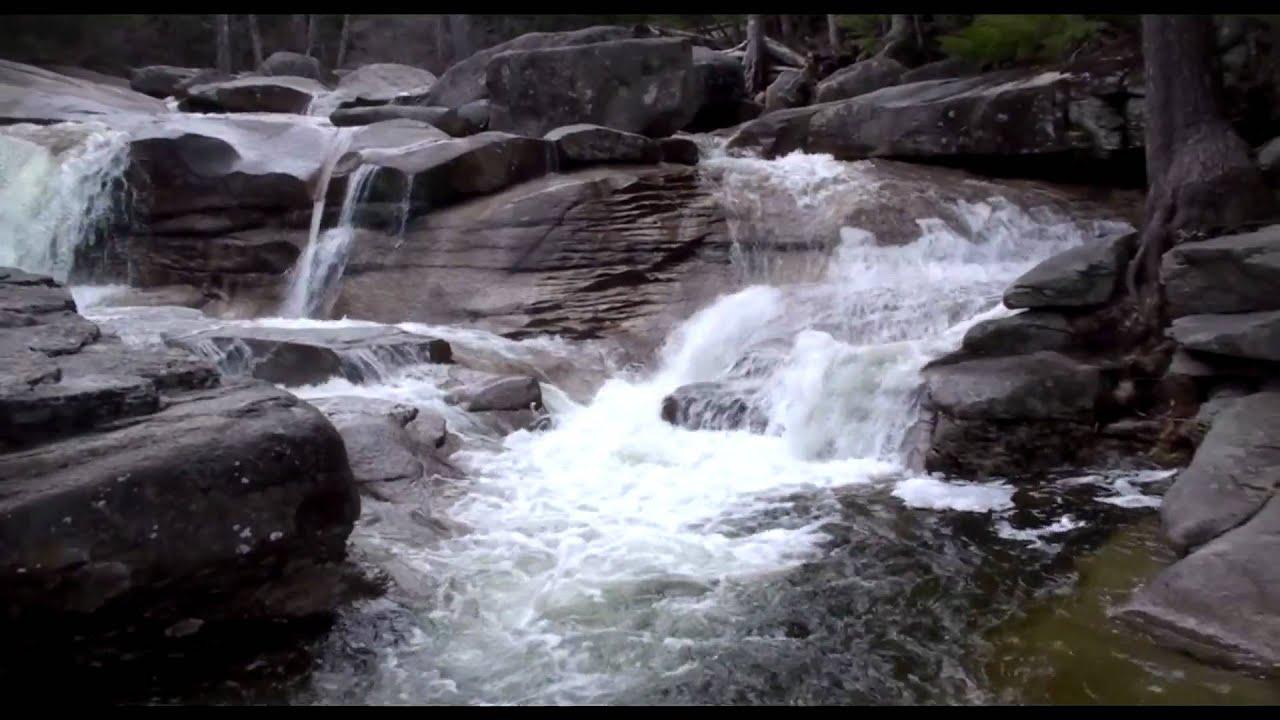 Dianas Bath Waterfalls Bartlett NH  North Conway NH  YouTube
