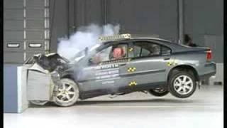 Volvo S60 HSF Crash test