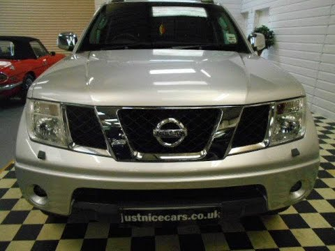2008 (57) Nissan Navara Double Cab Pick Up Aventura 2.5dCi 169BHP 4WD (Sorry Now Sold)