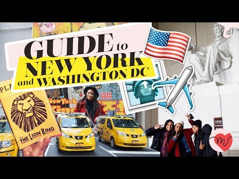 Guide where to go in New York and Washington DC | Melix World