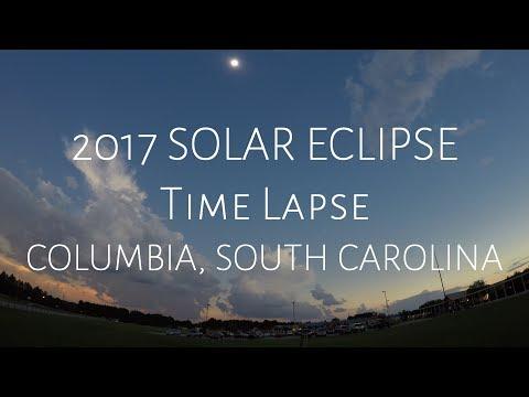 2017 SOLAR ECLIPSE Time Lapse - COLUMBIA, SOUTH CAROLINA