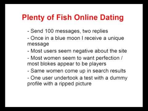 Free Dating Site Plenty of Fish (POF) - Top Tips as to the reality of use.