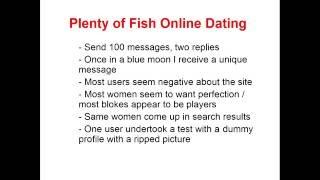 free online dating sites like plenty of fish