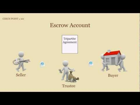 Escrow Accounts in Czech Republic - How to Use Them for a Property Sale or Purchase