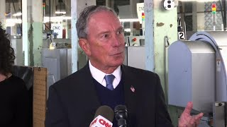 Bloomberg opens door to 2020 presidential bid