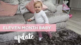 11 Month Baby Update   Sleep Battles   Walking   Feeding & Sleeping Routine