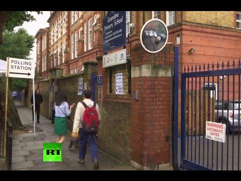 RAW: Brexit referendum underway in UK