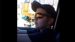 little peters wants to be a nascar driver