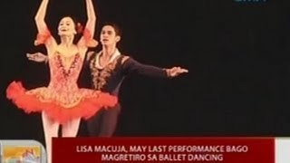 UB: Lisa Macuja, may last performance bago magretiro sa ballet dancing