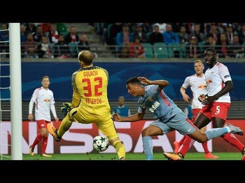 AS MONACO vs RB LEIPZIG (1-4) | RESUME ET TOUS LES BUTS 21/11/2017 HD