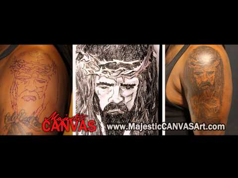 Majestic CANVAS   The Homie B Tattoo Session Part 2