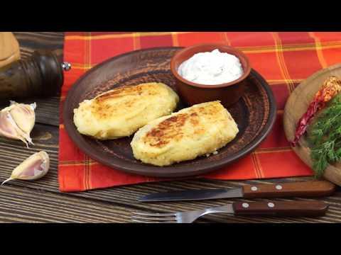 Картофельные зразы с фаршем - рецепт от WEBSPOON.ru