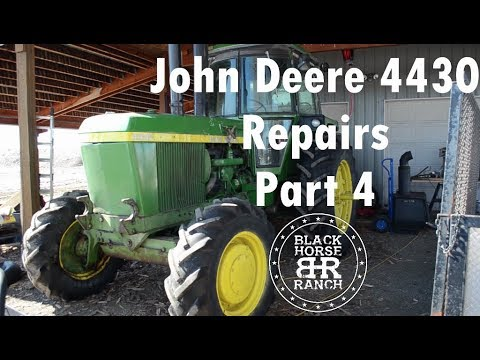 John Deere 4430 Repairs - Part 4 SCV Seals