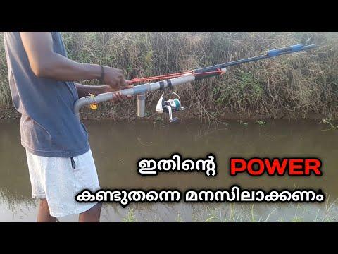 തോട്ടിൽ വെള്ളം കുറഞ്ഞപ്പോൾ തെറ്റാലി എടുത്തിറങ്ങി,speargun Fishing In Kerala Field, Crossbow Fishing