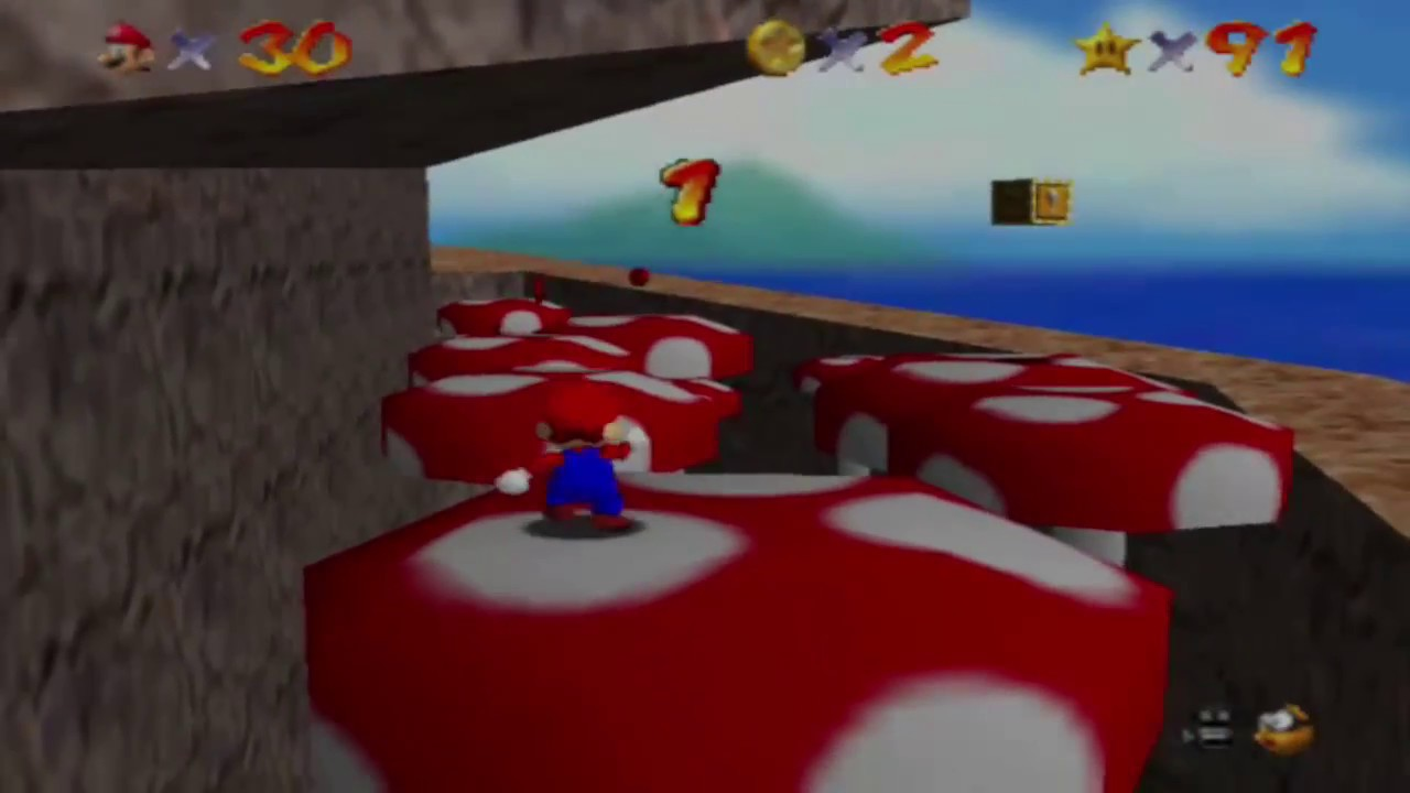 Super Mario 64 Fliegenpilz Fiasko Finde Die 8 Roten Münzen