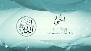 "Asmaul Husna Türkçe-3 ""99 Names of Allah""(Official Video Original HD) Mustafa Özcan Günesdogdu"