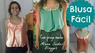 Vestido casual lindo e facil de costurar Alana Santos Blogger