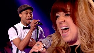 The Voice UK 2013 | Leah McFall Vs CJ Edwards - Battle Round...