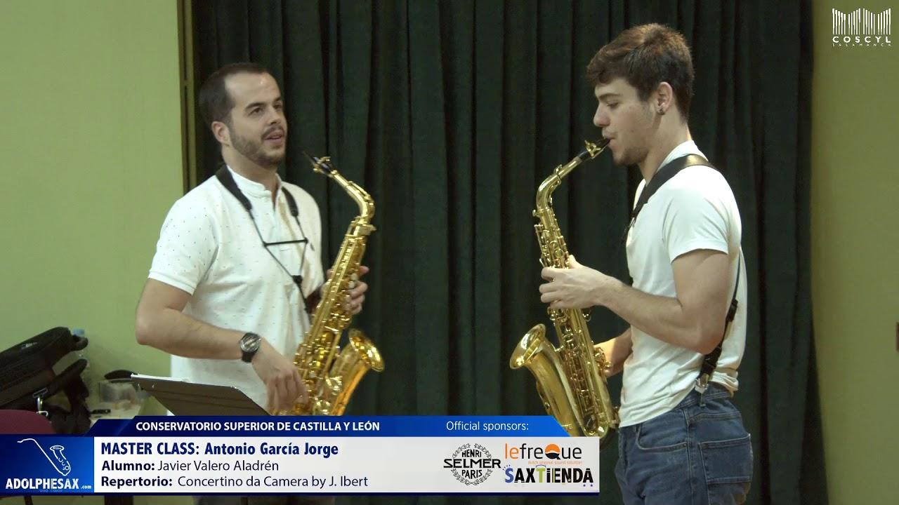 MASTER CLASS - Antonio Garcia Jorge - Javier Valero Aladrén (COSCYL)