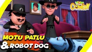 Motu Patlu- EP14A   Motu Patlu & Robot Dog   Funny Videos For Kids   Wow Kidz Comedy