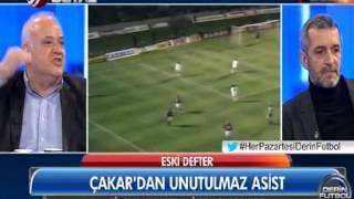 Ahmet Çakar'dan unutulmaz asist