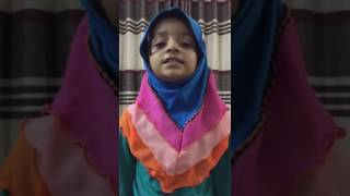 Chittagong little girl singing nice islamic song