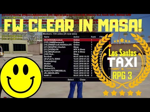FW CLEAR IN MASA!   Admin Life (#513)