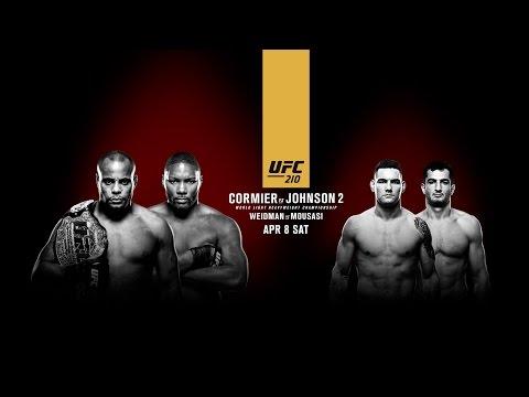 UFC 210: Cormier vs Johnson 2