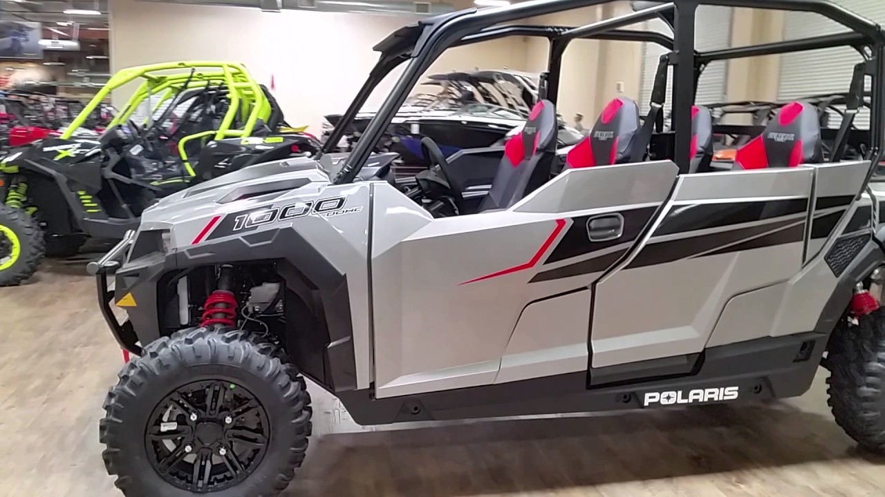 Polaris General 4 Seater >> 2017 POLARIS GENERAL 4 1000 EPS - YouTube