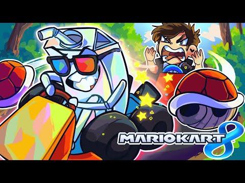 SMii7Y is hacking in Mario Kart... (Mario Kart Funny Moments)