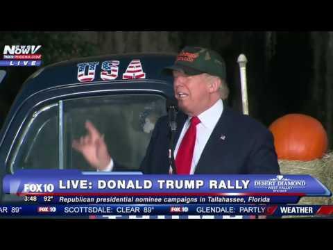 WATCH FULL: Donald Trump Rally Tallahassee, Florida - 10/25/2016