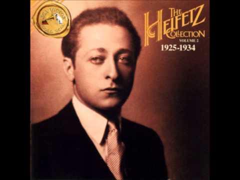 Jascha Heifetz Felix Mendelssohn  On Wings of Song Op 34 No 2