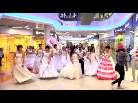 Флешмоб Сбежавшие невесты-2015 Смоленск